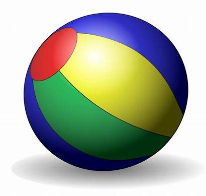 Clipart Ball Clip Beachball Object Ballon Plage