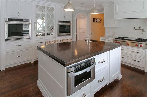 microwave in kitchen island island with microwave drawer transitional kitchen