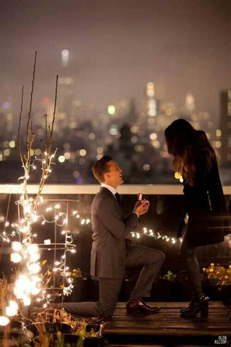wedding proposal  night  beautiful