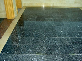 granite tile floors blue pearl granite flooring ideas granite4less blog