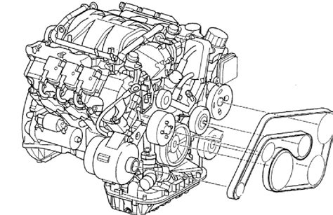 Mb Engine Diagram by Looking For A Description Of How To Put A Serpentine