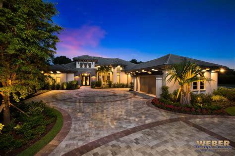 1 Story Coastal Contemporary Home Floor Plan
