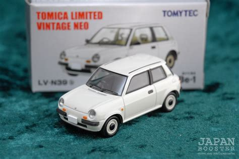 [TOMICA LIMITED VINTAGE NEO LV-N39b 1/64] NISSAN Be-1 (White)