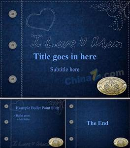 Jeans background ppt templates download | Free download