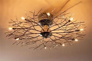 Plafonnier Design Salon : d tails sur plafonnier design moderne lustre lampe suspension lampe de salon chrome 41349 ~ Teatrodelosmanantiales.com Idées de Décoration