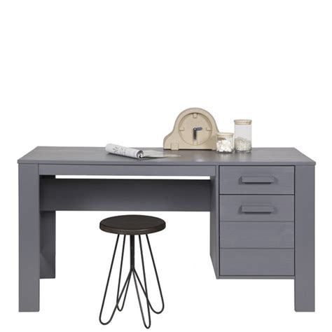 denis bureau bureau en pin brossé denis par drawer fr