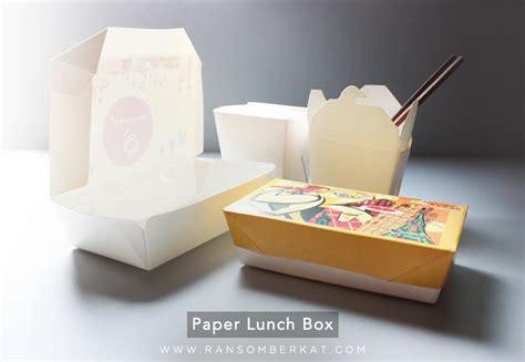 jual kotak makan kertas harga murah kota tangerang oleh