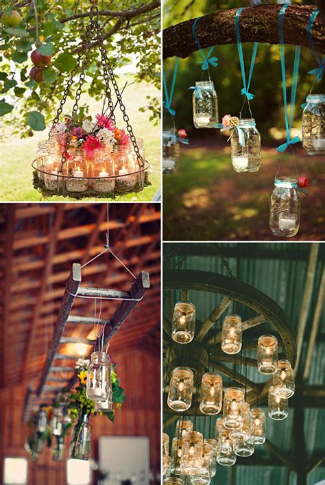 wedding decor rustic wedding ideas 30 ways to use jars Rustic