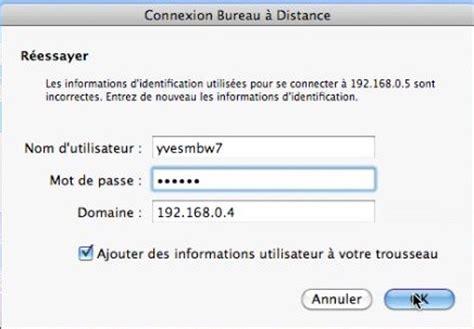bureau à distance mac connexion bureau a distance pour mac 28 images