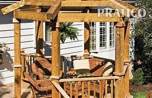 Construire Sa Pergola : comment construire une pergola en tapes jardinage et ext rieur pratico pratique ~ Dode.kayakingforconservation.com Idées de Décoration