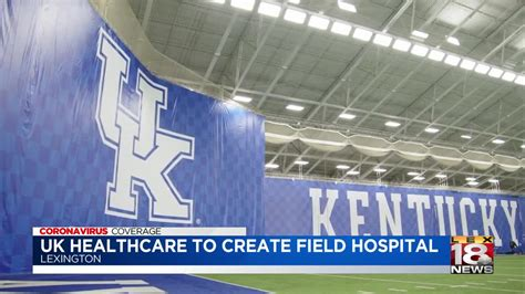 UK HealthCare turning Nutter Field House into field hospital