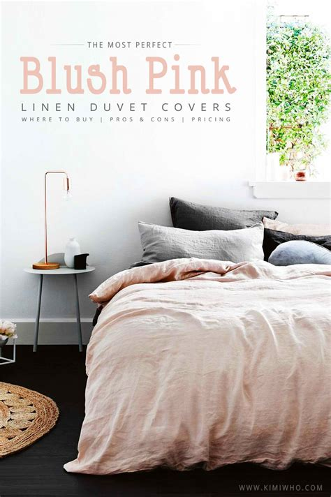Blush Colored Bedding by In Search Of The Blush Pink Bedding Set Kimi Who