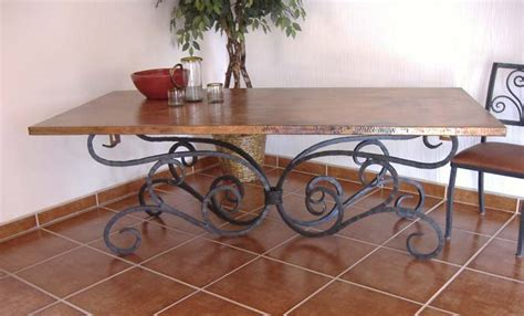 copper and iron dining table 270 copper furniture free