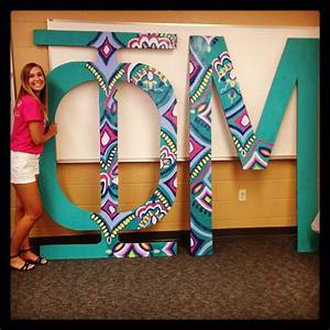 phimu giant wooden painted sorority letters With giant sorority letters