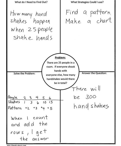 4 Blocker Template by Using 4 Block 4 Corners Template In Math