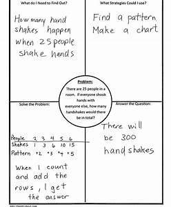 using 4 block 4 corners template in math With 4 blocker template