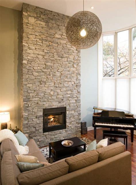 la deco avec une cheminee contemporaine salons