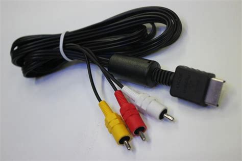 ft audio video av cable cord  rca  sony playstation