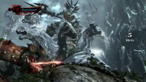 God Of War Iii Boss 1 Poseidon Youtube
