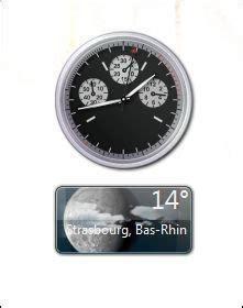 afficher meteo sur bureau windows 7 afficher vos gadgets sur windows 7 astuces pratiques