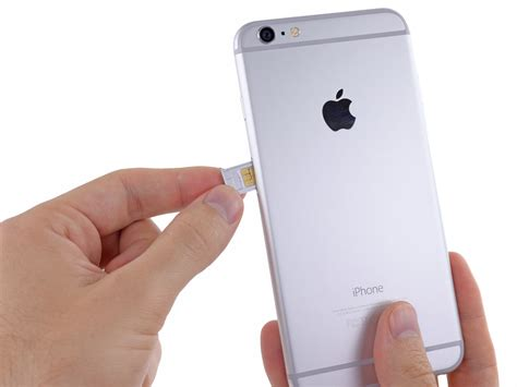 sim card for iphone 6 iphone 6 plus sim card replacement ifixit