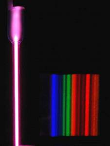 What color is argon in the spectrum