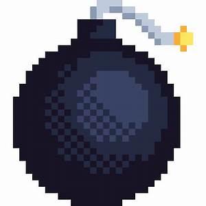Pixel Art Bombe : pixel art items i am using in my current project steemit ~ Melissatoandfro.com Idées de Décoration