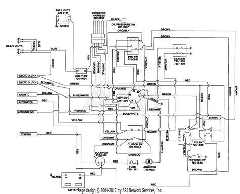 2002 Mtd Wiring Diagram by Mtd Wiring Diagrams Auto Electrical Wiring Diagram