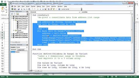 Or Exle by Consolidate Data In Different Shaes How To Use Vba Or
