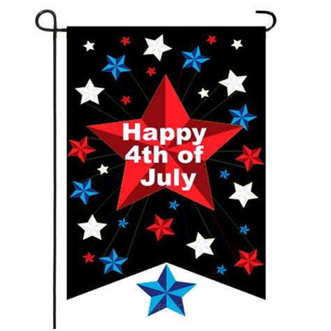 4th of july garden flags happy 4th of july garden flag 4th of july flags holidays 7362