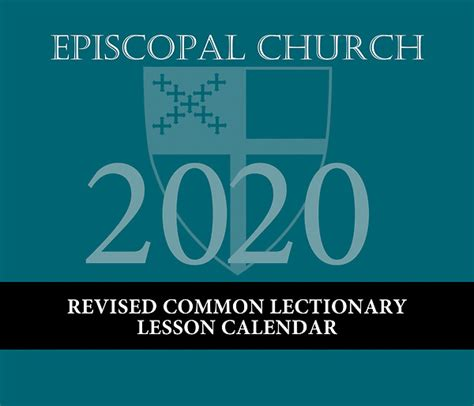episcopal church lesson calendar revised common lectionary cokesbury