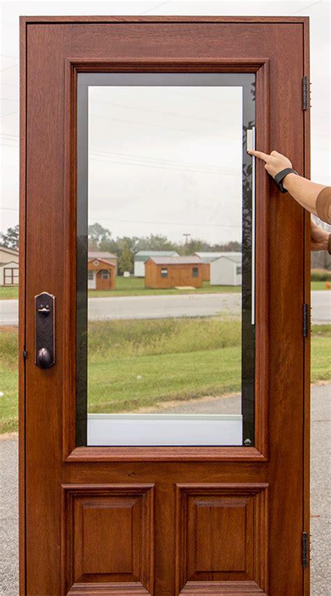 exterior door with blinds exterior doors solid mahogany wood doors