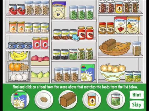 Food Games Amazing Healthy Food Hunt Gameplay Hidden Obejct Games