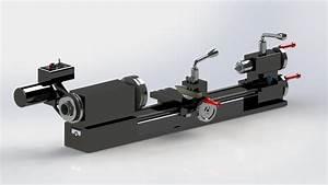 Sherline 4400 Lathe - 3D CAD model - GrabCAD
