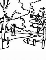 Coloring Park Pages Colouring Bench Printable Neighborhood Thank Cartoon Print Visiting Re Getcolorings Handipoints Sheets Facts Fun Drawings National Popular sketch template