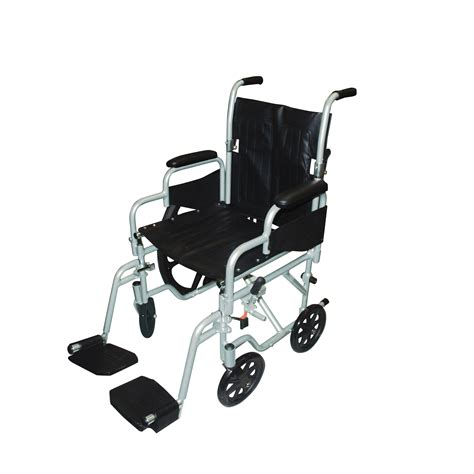 drive poly fly light weight transport chair wheelchair