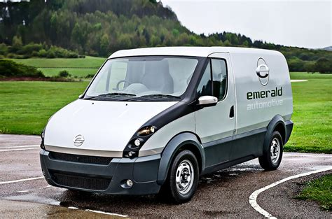extended range electric van      uk autocar