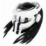 Helmet Laser Helmets Soman Face Flip Cool