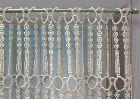 rideau macramé cuisine petit rideau macramé pille petit rideau prêt à poser