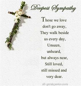 SYMPATHY QUOTES FOR LOSS OF SISTER image quotes at ...