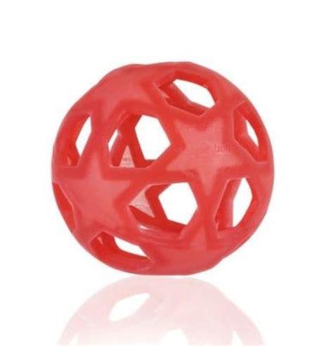 Hevea dabīgā kaučuka attīstošā bumba Star Ball sarkana | Ergolietas