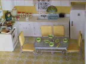 50s kitchen ideas 50s kitchen in a breadbox made the fridge stove and cupbo flickr