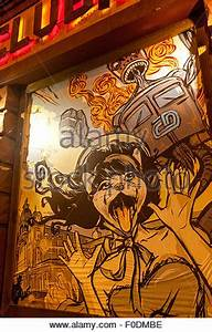 Kunst An Der Wand : cross club musik club nachtleben prag holesovice tschechische republik stockfoto bild ~ Markanthonyermac.com Haus und Dekorationen