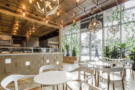 industrial cafe interior design original bakery in china with a modern industrial multi Modern