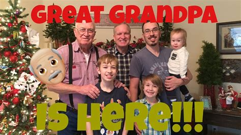 Vlogmas Day 22  Visiting Great Grandpa!!  Life With The