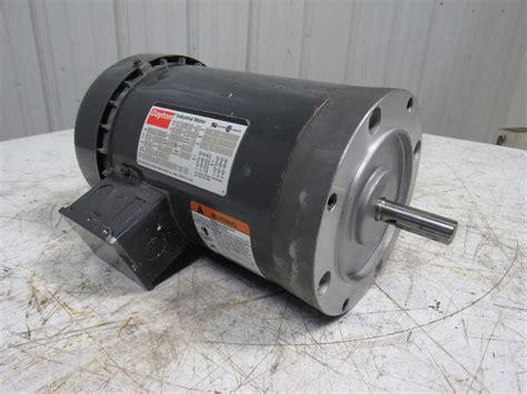 Dayton Electric Motors by Dayton 3n266c 2 Hp Ac Electric Motor 230 460v 3ph 1725rpm