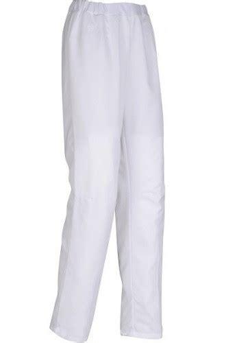 pantalon de cuisine femme pantalon de cuisine femme rosace blanc