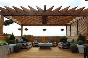 Que Mettre Sur Le Toit D Une Pergola : 20 id es pour la pergola design sur le toit ~ Melissatoandfro.com Idées de Décoration
