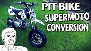 Pit Bike Supermoto : supermoto pit bike conversion road legal pit bike youtube ~ Kayakingforconservation.com Haus und Dekorationen