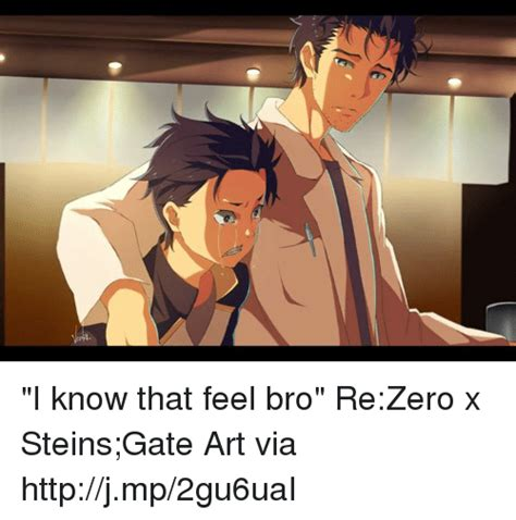Steins Gate Memes - 25 best memes about i know that feel i know that feel memes